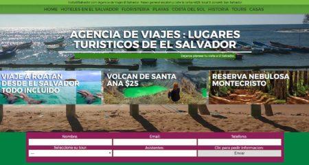 Diseño de paginas web Guatemala  Visita El Salvador – Web oficial