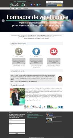 Diseño de paginas web Guatemala  charliehdez.com