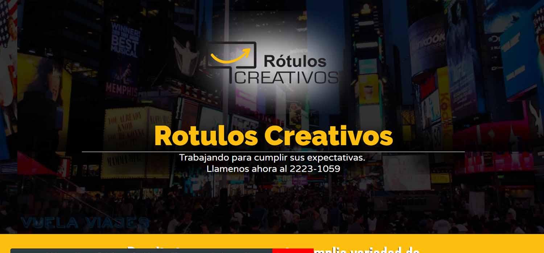 Diseño de paginas web Guatemala  Rotulos Creativos El Salvador