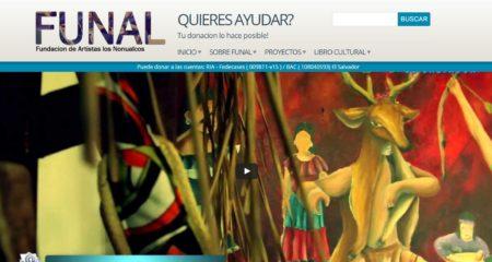Diseño de paginas web Guatemala  FUNAL – La fundación que genera empleo por medio de sus programas para emprendimiento.